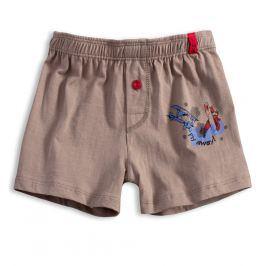 Chlapecké boxerky KEY LETADLO béžové Velikost: 134-140