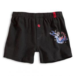 Chlapecké boxerky KEY LETADLO černé Velikost: 128-134