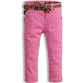 Dívčí barevné džíny MINOTI PARTY světle růžové Velikost: 86-92