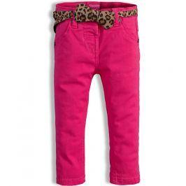 Dívčí barevné džíny MINOTI PARTY tmavě růžové Velikost: 86-92