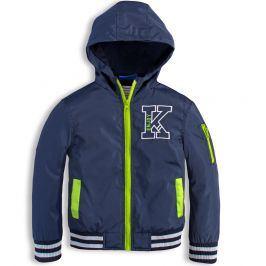 Chlapecká šusťáková bunda KNOT SO BAD ENJOY modrá Velikost: 92