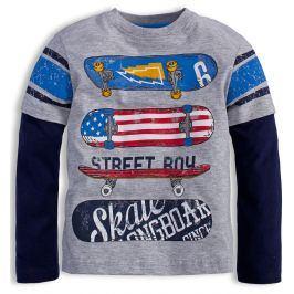 Chlapecké triko Mix´nMATCH SKATE šedé Velikost: 98