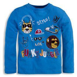 Chlapecké triko Mix´nMATCH JUNGLE modré Velikost: 98