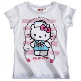 Tričko s krátkým rukávem HELLO KITTY Velikost: 140