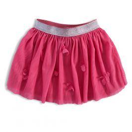 Dívčí tutu sukně KNOT SO BAD MOTÝLI růžová Velikost: 92