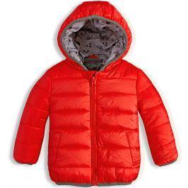 Kojenecká zimní bunda KNOT SO BAD oranžová Velikost: 74