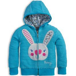 Dívčí mikina Mix´nMATCH BUNNY modrá Velikost: 92
