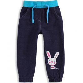 Kalhoty pro holčičky Mix´nMATCH BUNNY modré Velikost: 80