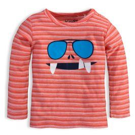Chlapecké triko KNOT SO BAD GLASSES oranžové Velikost: 62