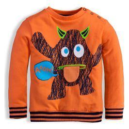 Dětská mikina KNOT SO BAD DEMON oranžová Velikost: 62