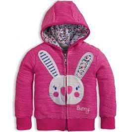 Dívčí mikina Mix´nMATCH BUNNY růžová Velikost: 92