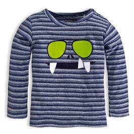 Chlapecké triko KNOT SO BAD GLASSES modré Velikost: 62