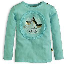 Dívčí triko DIRKJE LITTLE LADY zelené Velikost: 92