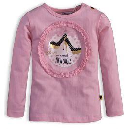 Dětské triko DIRKJE LITTLE LADY růžové Velikost: 80