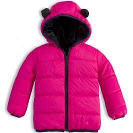 Dětská prošívaná bunda KNOT SO BAD ANIMALS růžová Velikost: 68