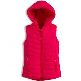 Dívčí prošívaná vesta KNOT SO BAD růžová Velikost: 92