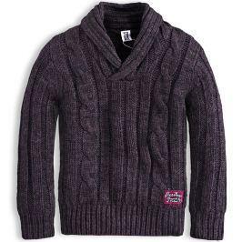 Chlapecký svetr PEBBLESTONE HERITAGE šedý Velikost: 110
