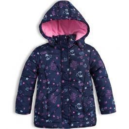 Dívčí zimní bunda LOSAN HAVE FUN modrá Velikost: 92