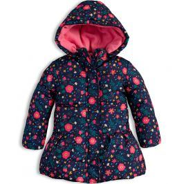 Dívčí zimní bunda LOSAN KYTIČKY modrá Velikost: 92