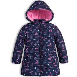 Dívčí zimní bunda LOSAN LITTLE SPACE modrá Velikost: 92