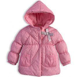 Dětská zimní bunda DIRKJE BALLET růžová Velikost: 86