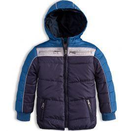 Chlapecká zimní bunda KNOT SO BAD WINTER modrá Velikost: 92