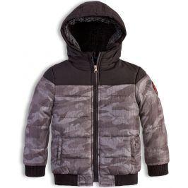 Chlapecká zimní bunda KNOT SO BAD ARMY šedá Velikost: 92