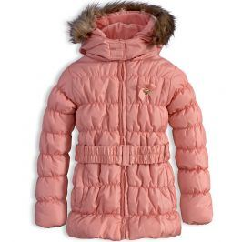 Dívčí zimní bunda KNOT SO BAD HEART růžová Velikost: 92