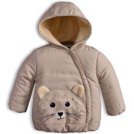 Dětská zimní bunda KNOT SO BAD ANIMALS béžová Velikost: 68