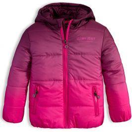 Dívčí zimní bunda LEMON BERET RAINBOW růžová Velikost: 92-98