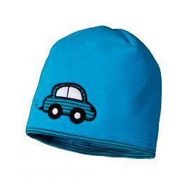 Dětská fleecová čepice YETTY AUTÍČKO modrá Velikost: 45-48 cm