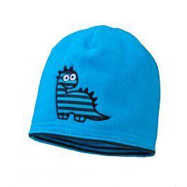 Chlapecká fleecová čepice YETTY DINO tyrkysová Velikost: 49-52 cm
