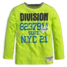 Kojenecké chlapecké triko DIRKJE DIVISION zelené Velikost: 68
