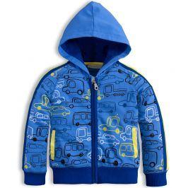 Mix´nMATCH Dětská mikina MixńMATCH CARS modrá Velikost: 86