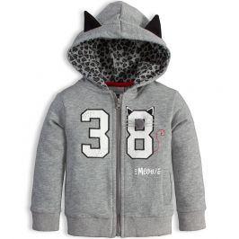 Dívčí mikina Mix´nMATCH MEOW šedá Velikost: 92