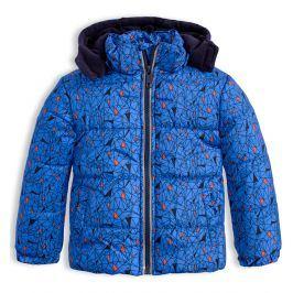 Chlapecká zimní bunda LEMON BERET GEOMETRIC modrá Velikost: 68