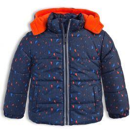 Chlapecká zimní bunda LEMON BERET GEOMETRIC tmavě modrá Velikost: 68