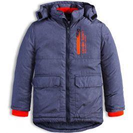 Chlapecká zimní bunda LEMON BERET CITY modrá Velikost: 92-98