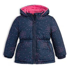 Dětská zimní bunda LEMON BERET HVĚZDIČKY tmavě modrá Velikost: 68