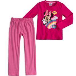 Dívčí pyžamo DISNEY MINNIE SMILE růžové Velikost: 92