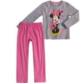 Dívčí pyžamo DISNEY MINNIE SHINE šedé Velikost: 128
