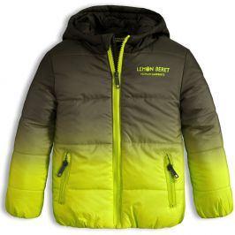 Dětská zimní bunda LEMON BERET RAINBOW zelená Velikost: 92-98