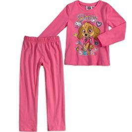 Dívčí pyžamo PAW PATROL SKYE růžové Velikost: 116