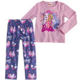 Dívčí pyžamo BARBIE JEDNOROŽEC růžové Velikost: 92