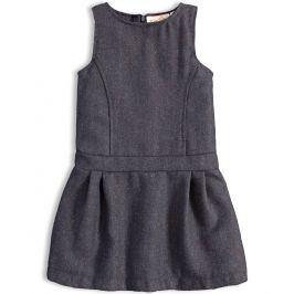 Dívčí šaty KNOT SO BAD PERFECT STYLE šedé Velikost: 92