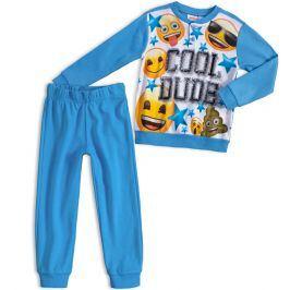 Chlapecké pyžamo EMOJI SMAJLÍK světle modré Velikost: 98