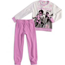 Dívčí pyžamo DISNEY INCREDIBLES ÚŽASŇÁKOVI fialové Velikost: 98