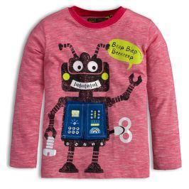 Dětské tričko LEMON BERET ROBOT červené Velikost: 104-110