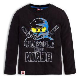 Chlapecké tričko LEGO NINJAGO INVISIBLE černé Velikost: 104
