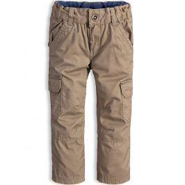 Chlapecké zateplené kalhoty DIRKJE DIVISION béžové Velikost: 104